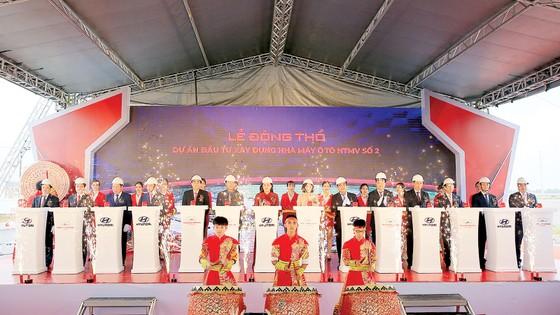 Tập đoàn Thành Công động thổ dự án nhà máy Hyundai Thành Công số 2 tại Ninh Bình ảnh 1