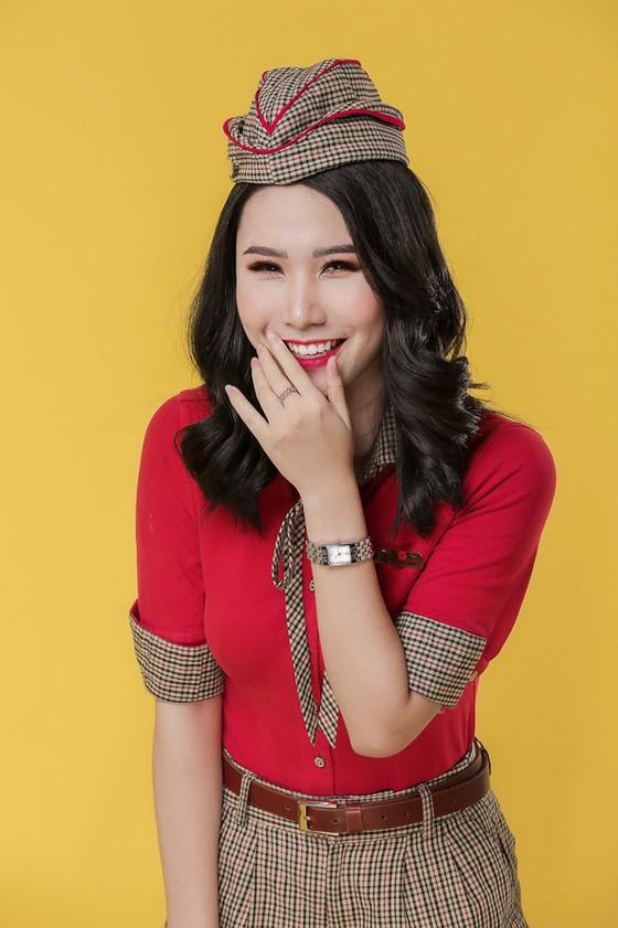 Bộ ảnh của hai thí sinh Hoa hậu Việt Nam là tiếp viên hàng không  ảnh 1