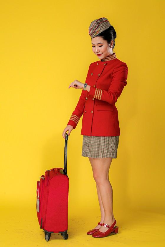 Bộ ảnh của hai thí sinh Hoa hậu Việt Nam là tiếp viên hàng không  ảnh 2