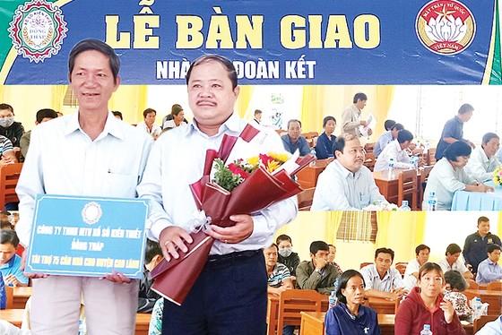 Công ty TNHH MTV Xổ số kiến thiết Đồng Tháp trao nhà Đại đoàn kết tại xã Ba Sao huyện Cao Lãnh ảnh 2