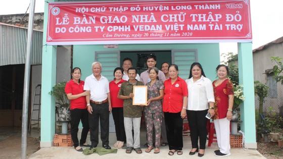 Vedan Việt Nam trao tặng 4 căn nhà Chữ thập đỏ cho các hộ nghèo tại tỉnh Đồng Nai ảnh 2