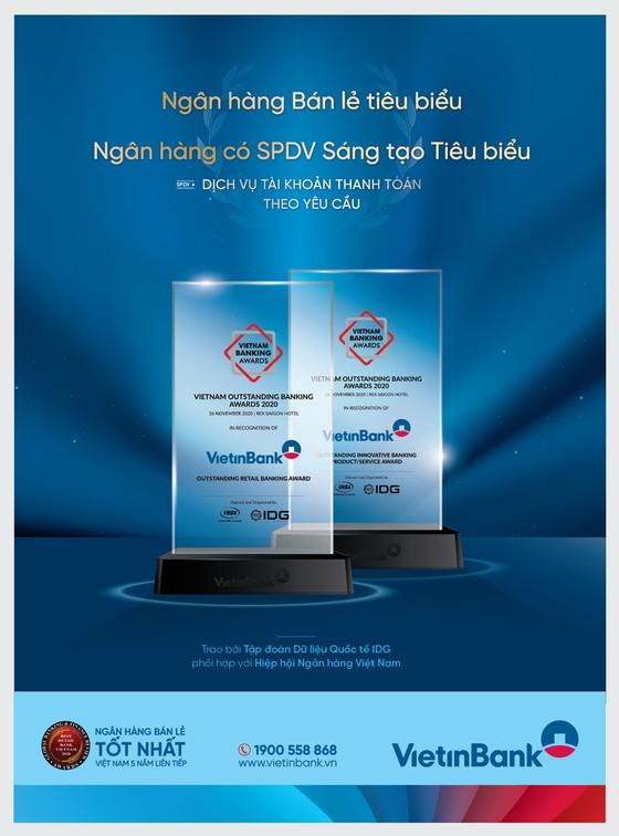 VietinBank nhận cú đúp giải thưởng uy tín ảnh 1