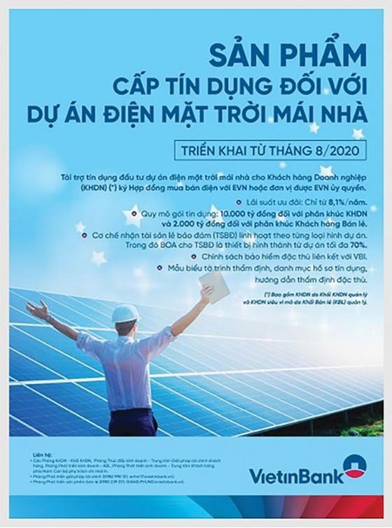 VietinBank thúc đẩy tín dụng xanh trong phát triển bền vững ảnh 1