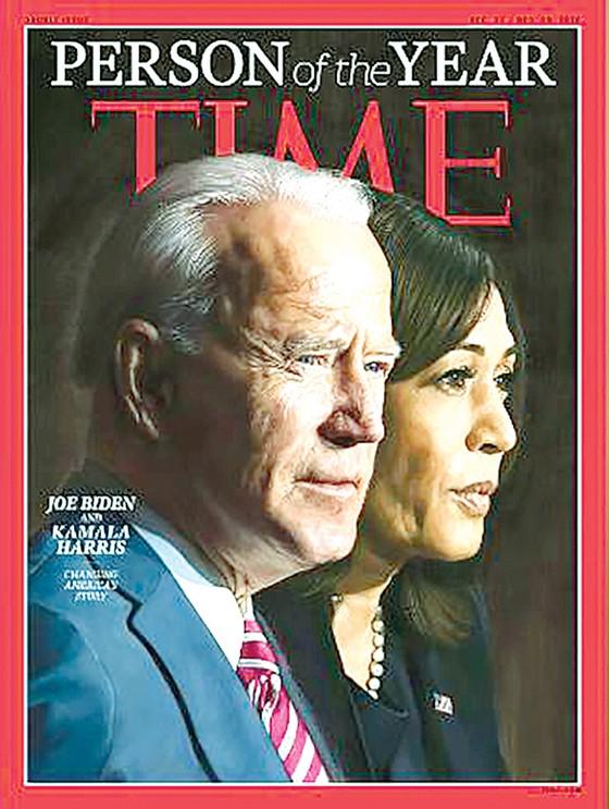 Tổng thống đắc cử Joe Biden là Nhân vật của năm 2020  ảnh 1