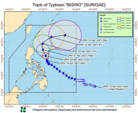 Philippines cảnh báo bão Surigae mạnh lên thành siêu bão ảnh 2