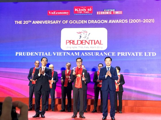 Prudential là doanh nghiệp bảo hiểm duy nhất lọt Top 10 Doanh nghiệp FDI phát triển bền vững ảnh 1