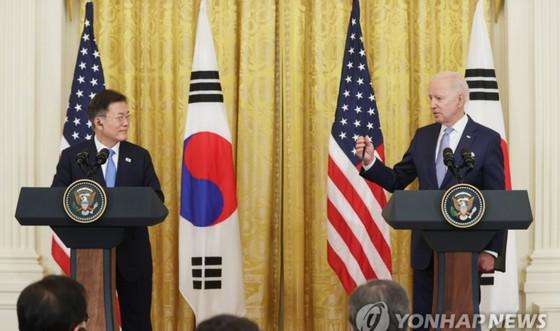 Lãnh đạo Mỹ - Hàn hội đàm thượng đỉnh ảnh 1