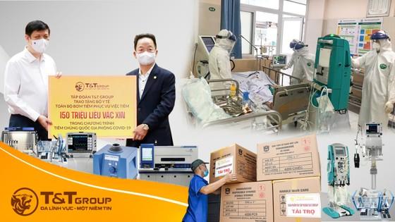 T&T Group tài trợ 20 tỷ đồng mua trang thiết bị y tế giúp một số địa phương phòng, chống dịch Covid-19 ảnh 1