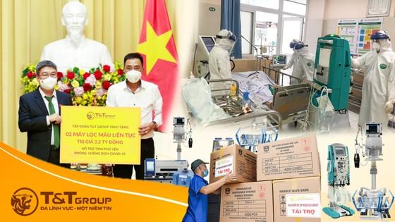 T&T Group tài trợ 20 tỷ đồng mua trang thiết bị y tế giúp một số địa phương phòng, chống dịch Covid-19 ảnh 2