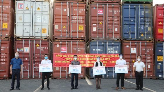 Thanh Hóa ủng hộ thêm 430 tấn nhu yếu phẩm cho các tỉnh, thành phía Nam ảnh 1