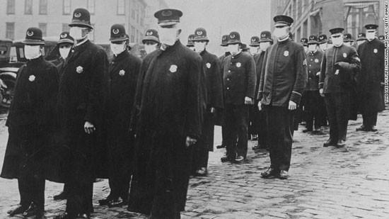 Bài học đeo khẩu trang ở Mỹ trong đại dịch cúm 1918 ảnh 1