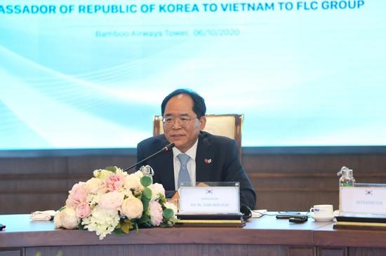 Đại sứ Hàn Quốc tại Việt Nam - cầu nối FLC với đối tác Hàn Quốc  ảnh 1