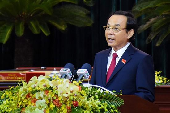 Tân Bí thư Thành ủy TPHCM Nguyễn Văn Nên chính thức ra mắt ảnh 2
