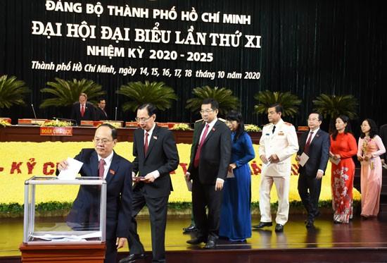 Tân Bí thư Thành ủy TPHCM Nguyễn Văn Nên chính thức ra mắt ảnh 4