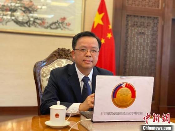 Đại sứ Trung Quốc tại Philippines Hoàng Khê Liên. Ảnh: Chinanews