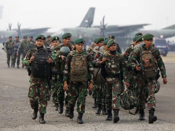Quân đội Indonesia. Ảnh: BI