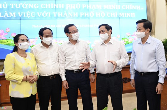 Thủ tướng Phạm Minh Chính: Cương quyết không để dịch Covid-19 bùng phát ở TPHCM ảnh 3