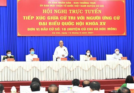 Chủ tịch nước Nguyễn Xuân Phúc và lãnh đạo TPHCM sẽ kêu gọi tập đoàn lớn đầu tư vào Củ Chi, Hóc Môn  ảnh 1