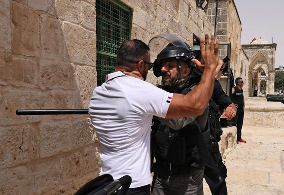 xung dot israel palestine anh 8