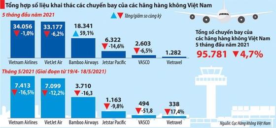 Hàng không Việt 'thấp thỏm' chờ ngày bầu trời mở cửa trở lại ảnh 1