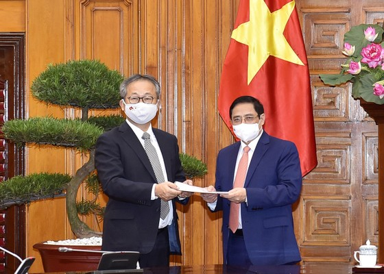 Nhật hỗ trợ Việt Nam 1 triệu liều vaccine Covid-19 ảnh 1