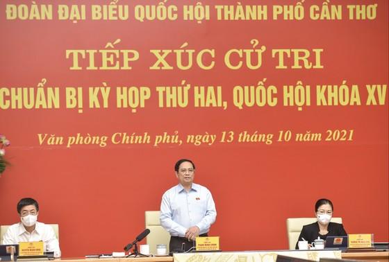Thủ tướng Phạm Minh Chính: Không ai được ban hành các giấy phép con, trái với Trung ương ảnh 1