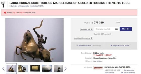 Vertu phá sản, phải rao bán điện thoại 20.000USD với giá bằng 1/10 ảnh 4