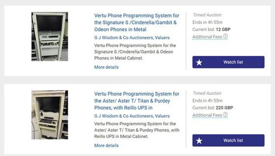 Vertu phá sản, phải rao bán điện thoại 20.000USD với giá bằng 1/10 ảnh 5