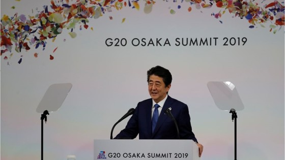 Abe G20 closing news conference
