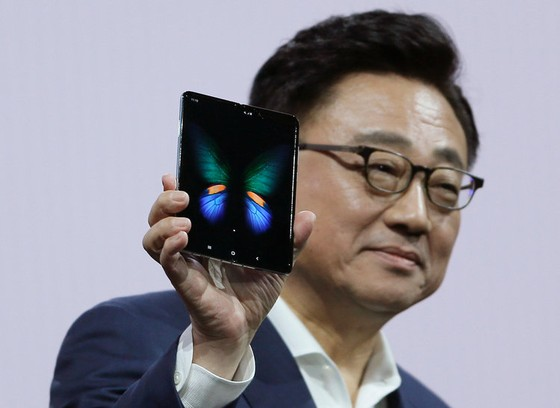 3. Samsung debuted the Galaxy Fold, and gave it a name, during its