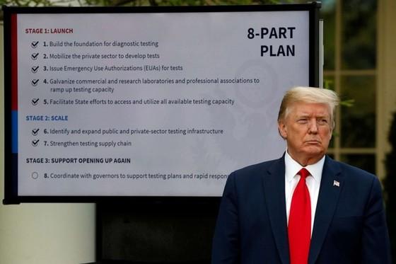 TT Trump: My se som xet nghiem Covid-19 cho 5 trieu nguoi/ngay hinh anh 1 white_house_coronavirus_briefing_11_ap_jc_200427_hpEmbed_3x2_992.jpg
