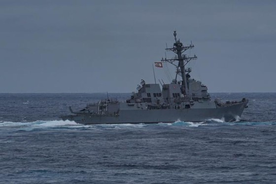 Mỹ điều chiến hạm tiến vào Trường Sa ngay sau khi ra tuyên bố về Biển Đông - 1
