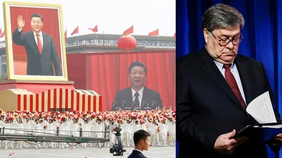 Bộ trưởng Tư pháp Mỹ cảnh báo tham vọng kinh tế của Trung Quốc - ảnh 1