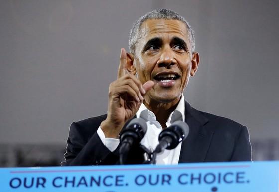 Tổng thống Trump: Nếu ông Obama làm tốt, tôi đã không ra tranh cử - Ảnh 1.