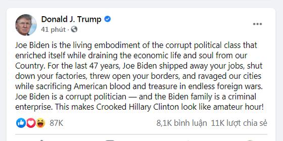 Công ty liên kết với Joe Biden đã đầu tư lớn vào các tập đoàn Trung Quốc ảnh 1