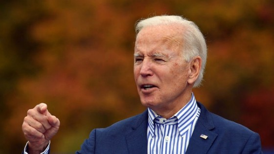 Ứng viên đảng Dân chủ Joe Biden. Ảnh: Getty