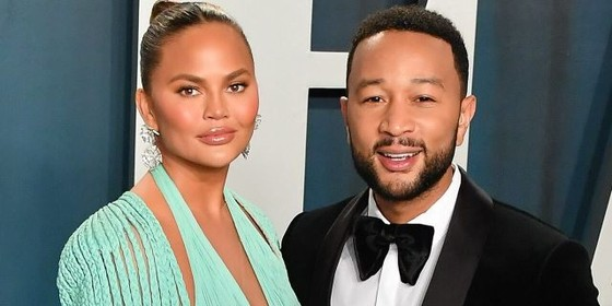 Chrissy Teigen and John Legend are considering leaving the U.S. after the election.(Allen Berezovsky/Getty Images)