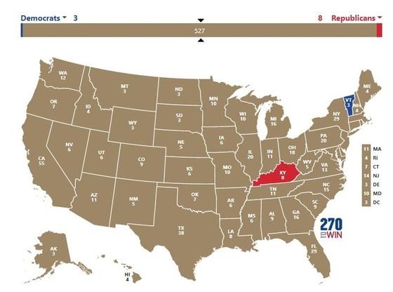 Cập nhật Trực tiếp Bầu cử Mỹ: Ông Trump dẫn trước ở 2 bang ảnh 13