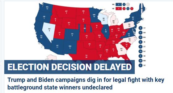 Cập nhật Trực tiếp Bầu cử Mỹ: Ông Trump dẫn trước ở 2 bang ảnh 8
