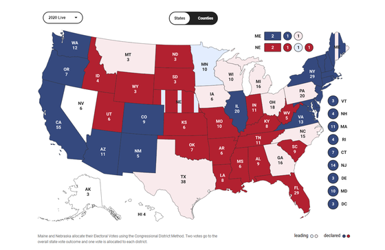 Cập nhật Trực tiếp Bầu cử Mỹ: Ông Trump dẫn trước ở 2 bang ảnh 11
