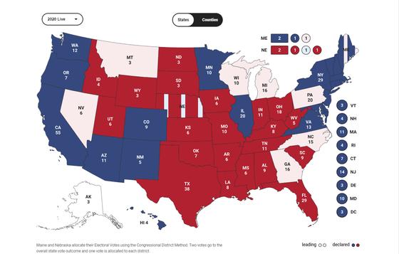 Cập nhật Trực tiếp Bầu cử Mỹ: Ông Trump dẫn trước ở 2 bang ảnh 10