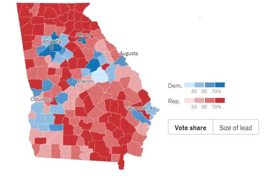 Cập nhật Trực tiếp Bầu cử Mỹ: Ông Trump dẫn trước ở 2 bang ảnh 3