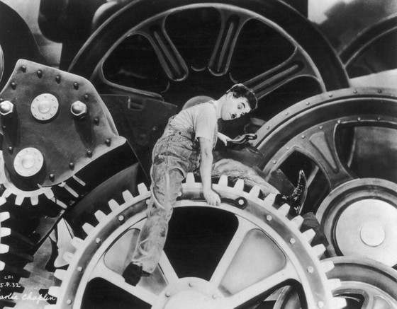 The company in Dongguan has been likened to the factory in Charlie Chaplin's film Modern Times. Photo: Getty Images
