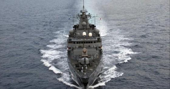 Tàu chiến Đức tới Biển Đông lần đầu tiên sau gần 2 thập kỷ ảnh 1