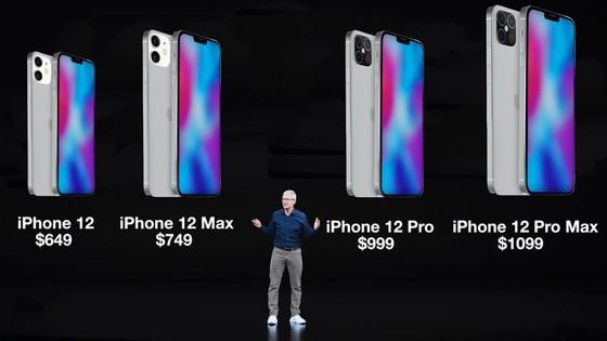 Ông Cook tại sự kiện ra mắt iPhone 12 vào tháng 10/2020 - Ảnh: YouTube