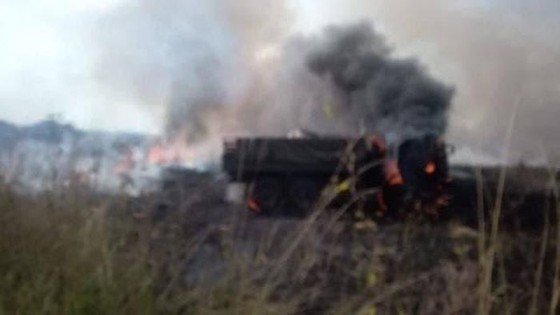 Ukraine bất ngờ tấn công dữ dội lực lượng dân quân miền Đông ảnh 10