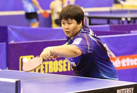 Tay vợt Mai Hoàng Mỹ Trang chỉ tiếc chưa từng được dự Olympic   Ảnh: T.L