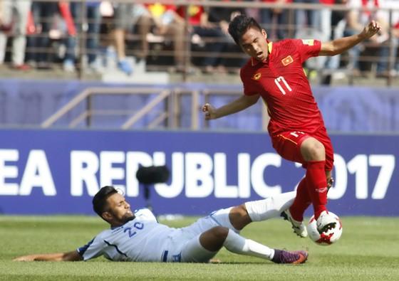Thất bại 0-2 trước Honduras ở lượt đấu cuối khá tiếc cho thầy trò HLV Hoàng Anh Tuấn. Ảnh: Anh Khoa