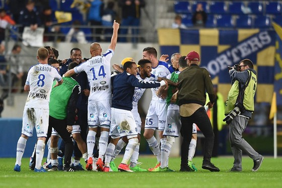 Giành chiến thắng thuyết phục trước Lorient, Troyes xứng đáng trở lại Ligue 1.
