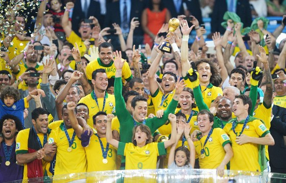 """Với 4 chức vô địch, Brazil thực sự là """"Vua trong các vị vua"""" tại Confederations Cup."""